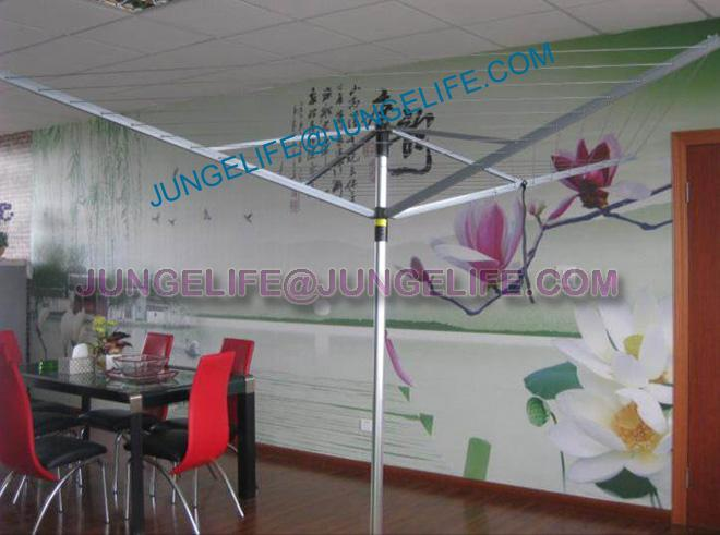 LYQ216 4 arms aluminium top quality rotary airer