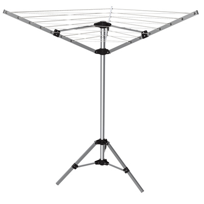LYQ204 3 arms 18 meter outdoor camping dryer with  tripod stand