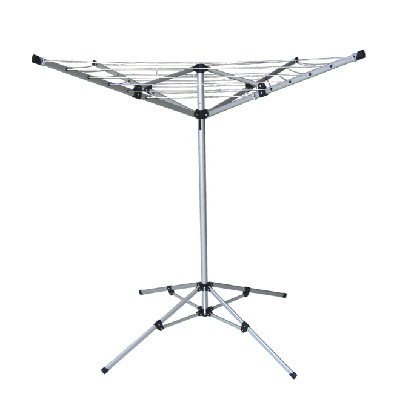 LYQ208  4 arms 20 meter outdoor camping dryer with square stand