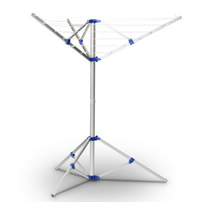 LYQ214 4 arms 16 meter outdoor camping dryer with tripod stand