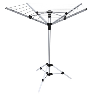 LYQ210 4 arms 20 meter outdoor camping dryer with tripod stand