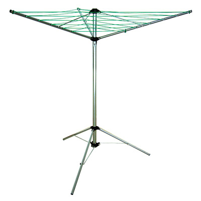 LYQ206 3 arms 15 meter outdoor camping dryer with  tripod stand