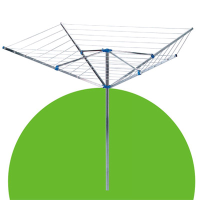 LYQ231 4 arms Aluminum rotary airer